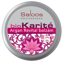 Bio Karité balzam Argan revital Saloos 19ml