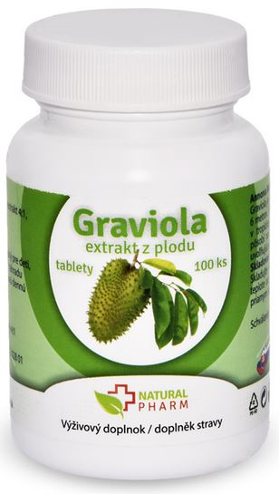 Graviola tablety Natural Pharm 100ks