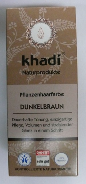 Khadi Dark brown farba na vlasy 100g  ec1a8047fda